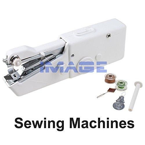 agptek easy to use handheld electric sewing machine. Black Bedroom Furniture Sets. Home Design Ideas
