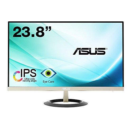 【Amazon.co.jp限定】ASUS フレームレス モニター 23.8インチ IPS 薄さ7mmのウルトラスリム ブルーライト軽減 フリッカーフリー HDMI,D-sub スピーカー VZ249H