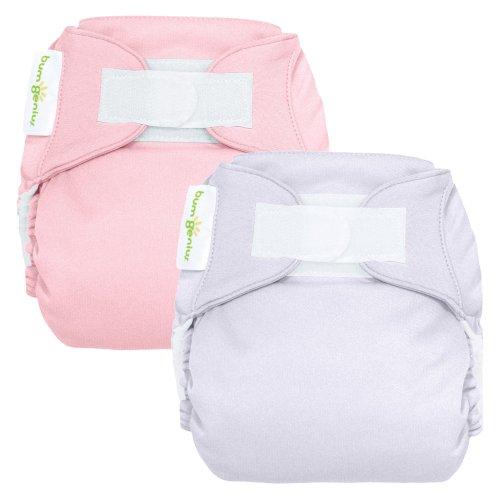 bumGenius Reusable Diaper 2 pack - Girl (Hook and Loop Closure)