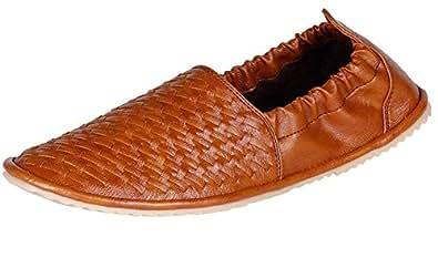 Anshul Fashion men's tan synthetic casual shoes-10