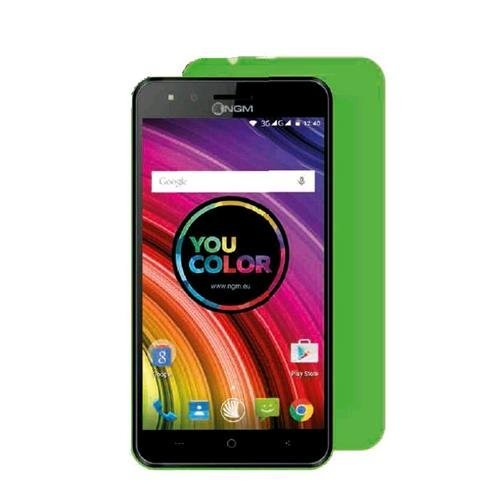 NGM YOU COLOR E507 DUAL SIM 5' QUAD CORE 4GB EXTRA COVER OMAGGIO AGGIUNTIVA TRA 21 COLORI ITALIA GREEN