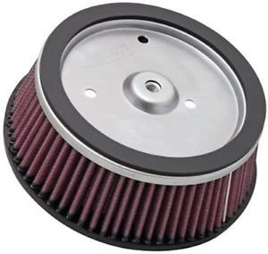 Arlen Ness Big Sucker Stage 1 Replacement Air Filter for Stage 1 Carb models, I - Red Filter Material (Harley Road King Air Cleaner compare prices)