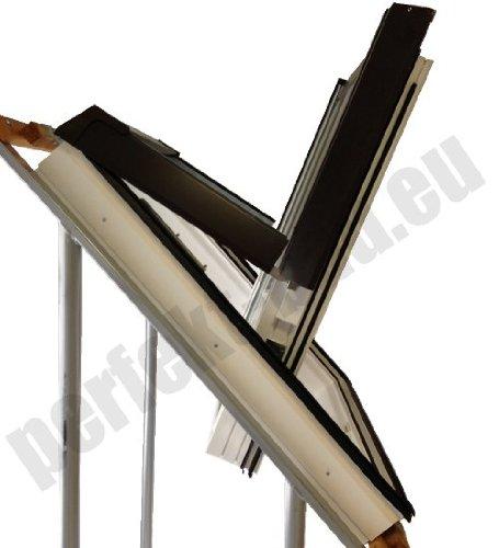 afg schweiz skylight premium kunststoff dachfenster pvc 78 x 118 mit eindeckrahmen f r. Black Bedroom Furniture Sets. Home Design Ideas
