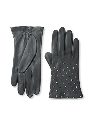 Portolano Women's Studded Leather Gloves