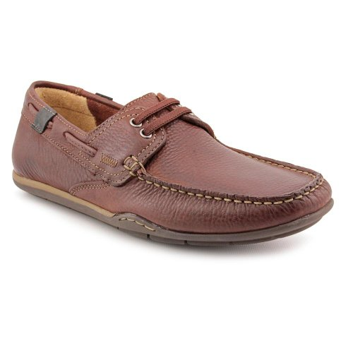 Clarks Rango Drum Loafers Shoes Brown Mens UK 13.5