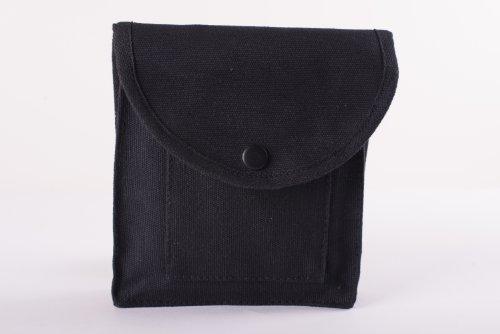 Stansport Cotton Canvas Utility Pouch, Black
