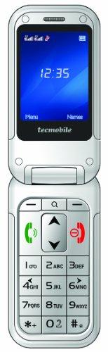 Tecmobile TEC/H150BKAR2 Handy (6,1 cm (2,4 Zoll) TFT-Display, Bluetooth, GPRS, SOS-Taste, 1,3 Megapixel Kamera) schwarz