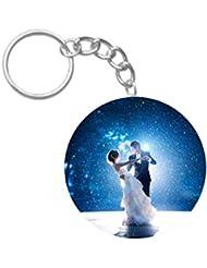 Sweet Love | ShopTwiz Printed Circle Key Ring - B01GZP2VBO