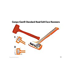 Stanley Compo-Cast Standard Head Soft Face Hammer 57-532