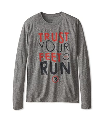 Athletic Recon Men's Trust Your Feet Long Sleeve
