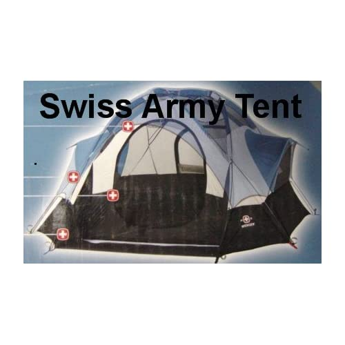 Amazon.com : Wenger Wintterhorn Swiss Army Geodesic Dome Tent 9 X 9