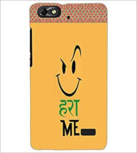 PrintDhaba Funny Image D-4502 Back Case Cover for HUAWEI HONOR 4C (Multi-Coloured)