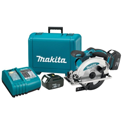 Makita BSS610 18-Volt LXT Lithium-Ion Cordless 6-1/2-Inch Circular Saw Kit