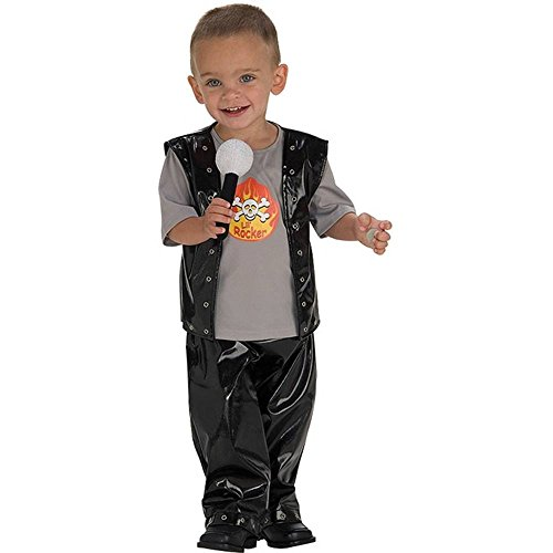 Cutie Rock Star Kids Costume