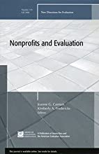 Nonprofits and Evaluation (Paperback)--by…