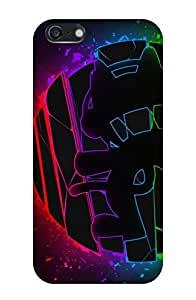 Generic Hard Printed Back Cover for Apple Iphone5 (Multicolor)