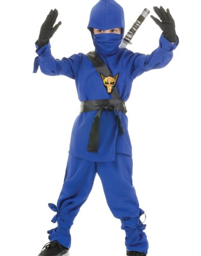 Black Wolf Ninja Kids Costume