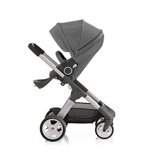 Stokke Crusi Stroller - Black Melange - 1