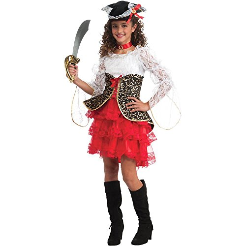 Seven Seas Pirate Deluxe Kids Costume