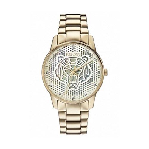 Kenzo K0072003 Unisex Gold Dial SS IPGold Plated orologio al quarzo