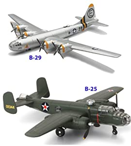 B-29 and B-25 Toy Planes Set