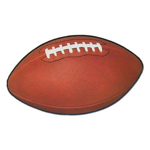Football Cutout Party Accessory (1 count) - 1