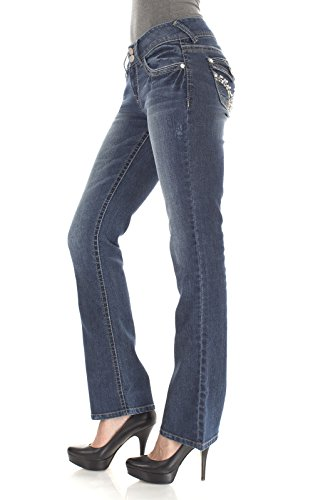WallFlower Juniors Luscious Curvy Barely Bootcut