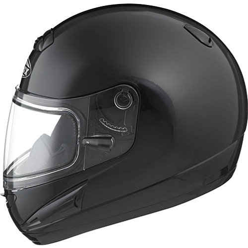Gmax Gm38S Men'S Snow Racing Snowmobile Helmet - Black With Electric / 2X-Large