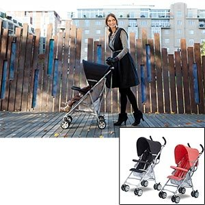 Zooper Stomp Umbrella Stroller(Star Black)