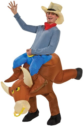 Inflatable Bull Rider Costume