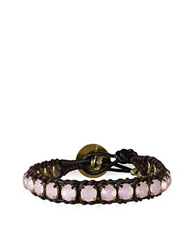 Hely Designs Pulsera Magic Rosa / Marrón