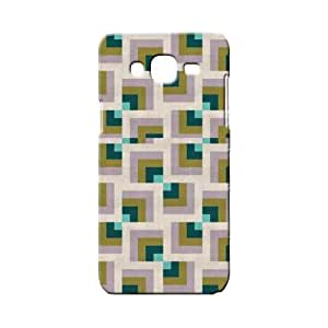 BLUEDIO Designer 3D Printed Back case cover for Samsung Galaxy E7 - G0696