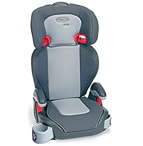 graco junior maxi high back car booster seat group 3 in grey baby. Black Bedroom Furniture Sets. Home Design Ideas
