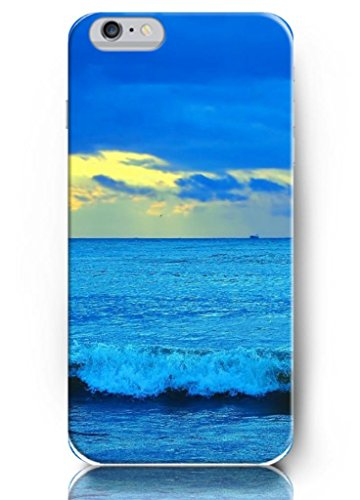 Ouo New Unique Vintage Hard Cover For 4.7 Inch Iphone 6 Case Colorful Sky And Blue Sea