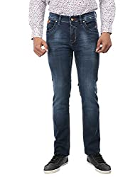 Oxemberg Slim Fit Men's Blue Denim