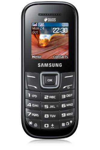 Téléphone GSM SAMSUNG E1202 NOIR