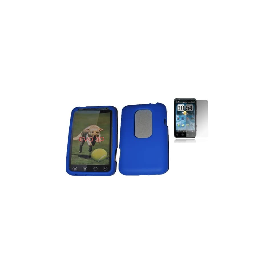 Mobile Palace   Blue silicone skin case cover pouch