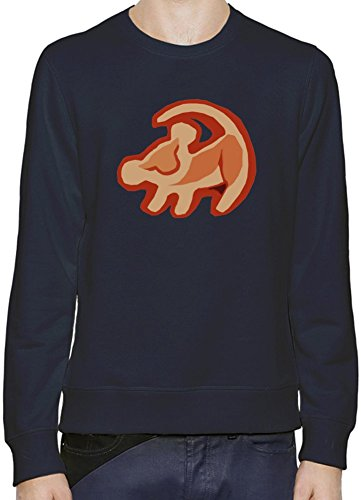 Simba The Lion King Logo Pullover Uomini Donne XX-Large