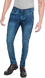 E Fashion Up Men's Skinny Fit Denim Jeans J6_Blue_30
