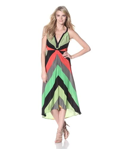 Twelfth St. by Cynthia Vincent Women's Chevron Stripe Dress  - Broad Stripe