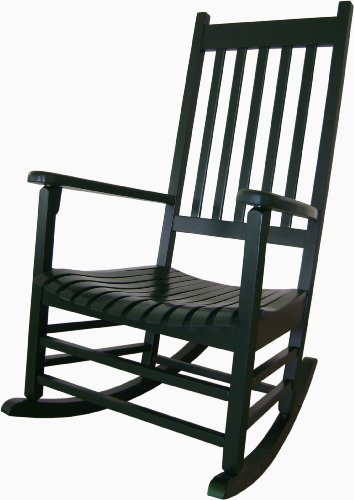 cheap International Concepts R-51865 Porch Rocker, Hunter Green sale