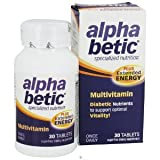 alpha betic Multivitamin PLUS Extended Energy 30 Tablets by Enzymatic Therapy ~ Enzymatic