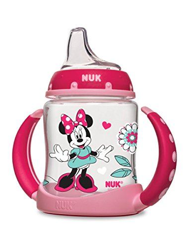 NUK Disney Learner Cup with Silicone Spout, Minnie Mouse, 5-Ounce