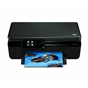 HP - Photosmart 5510 e-All-in-One - Imprimante multifonctions jet d'encre - Couleur - 22 ppm - WiFi/USB 2.0