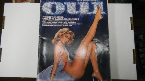 Oui Busty Adult Magazine December 1977 Incredible Comeback of the Latin Lover
