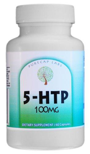 5-HTP- Natural Appetite Suppressant, 100mg 60