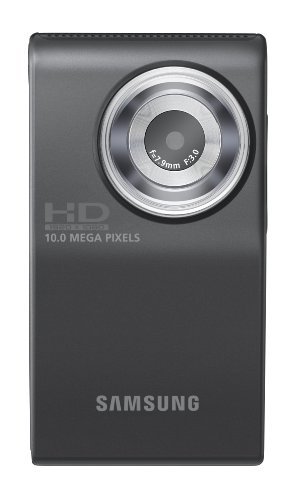 41FvRkJ7JXL Samsung HMX U10 Ultra Compact Full HD Camcorder with 10 MP Still (Green)