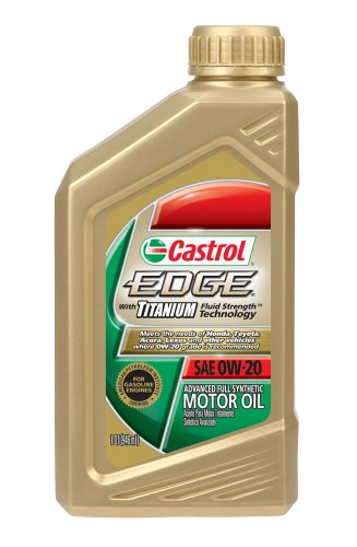 Best cheaper prices best price castrol 06240 edge 0w 20 titanium synthetic motor oil 1 quart Best price on motor oil
