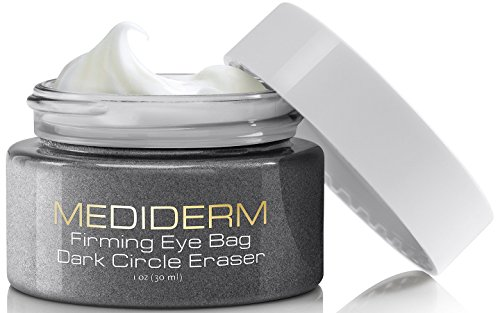 Best Under Eye Bags & Dark Circles Treatment Cream -Instantly Removes Puffy Eyes & Get Rid of Your Raccoon Eyes With Mediderm Natural Miracle Firming Anti-Aging Moisturizer For Eye Lifts & Tightening (Sleep Satisfaction Llc Sign compare prices)