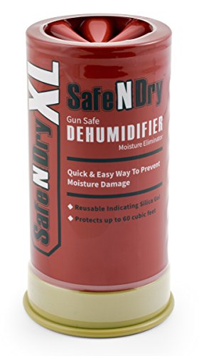 SafeNDry Rechargeable & Reusable Gun Safe Dehumidifier & Moisture Eliminator